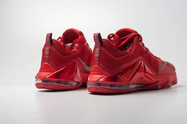 """Nike Lebron 12 Low Red """"Red October"""" Sz 8-13 