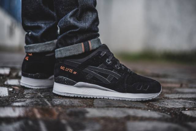asics gel lyte 3 black gold