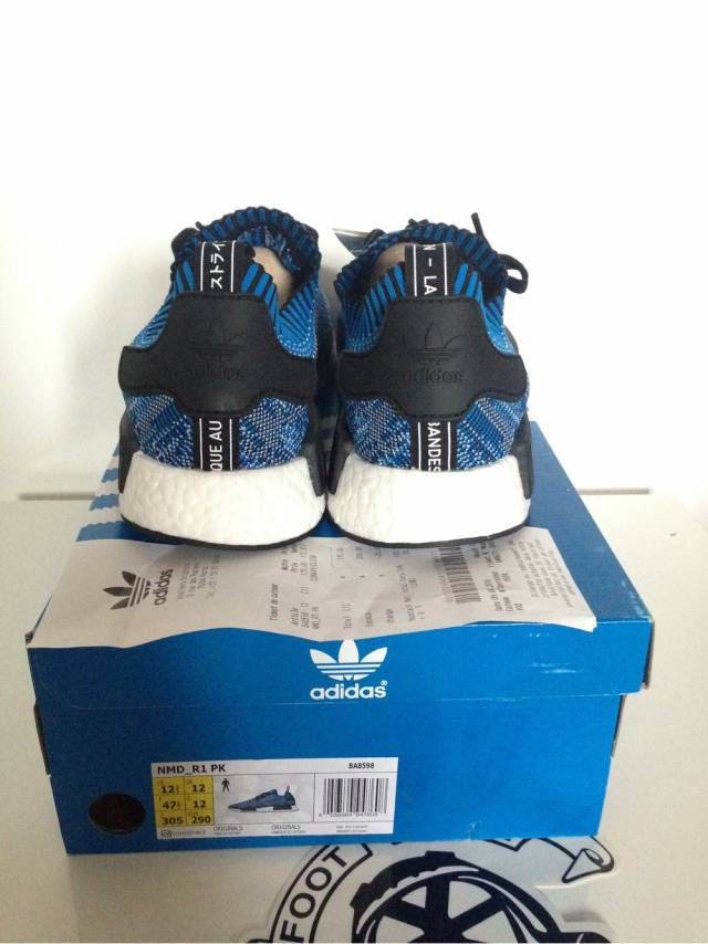Unboxing Latest Adidas Tri Color PK Primeknit NMD R1 Racer
