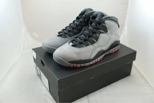 a034d83120ff87 Nike air Jordan retro 10 cool grey infrared size 9