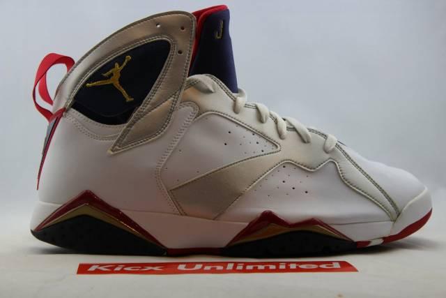 new styles 29c45 105f9 Air Jordan 7 Retro Olympic Sz 15 White 304775-171 Cond-...