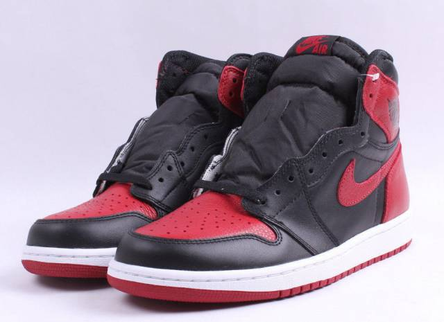 Air Jordan 1 Bred Banned 2016  14fbadde7