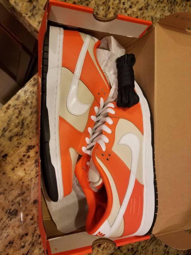 various colors 1ba3b ce92b Nike sb dunk low premium  orange box