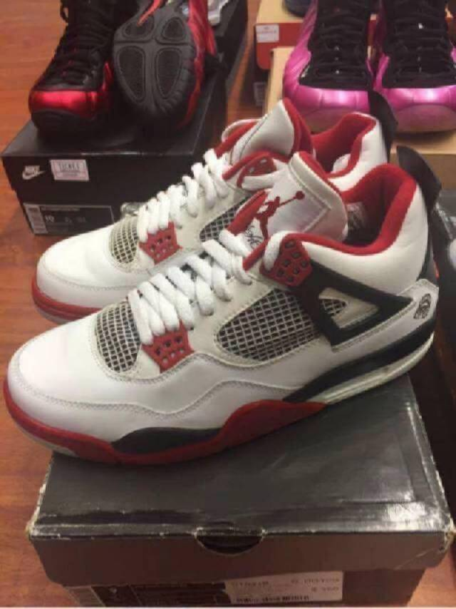 Jordan 4 Size 9 Fire Red 2006 Pre Owned Kixify Marketplace