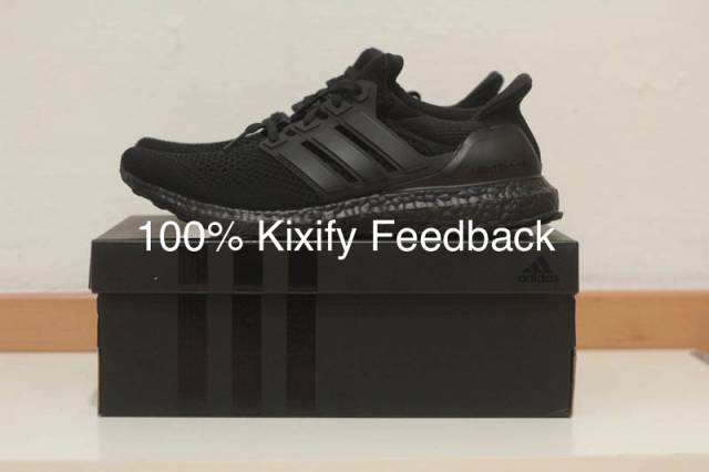 8618788d435 Adidas Ultra Boost LTD Triple Black 1.0 2.0