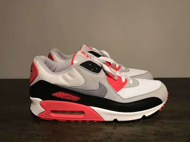sale retailer 66630 19bba Nike Air Max 90 Classic Infrared Cement Ds 1 2005 31309...