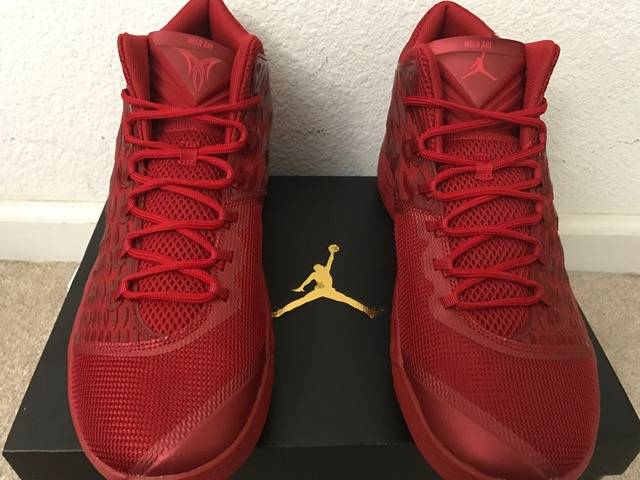 Jordan melo m13 red size us 14