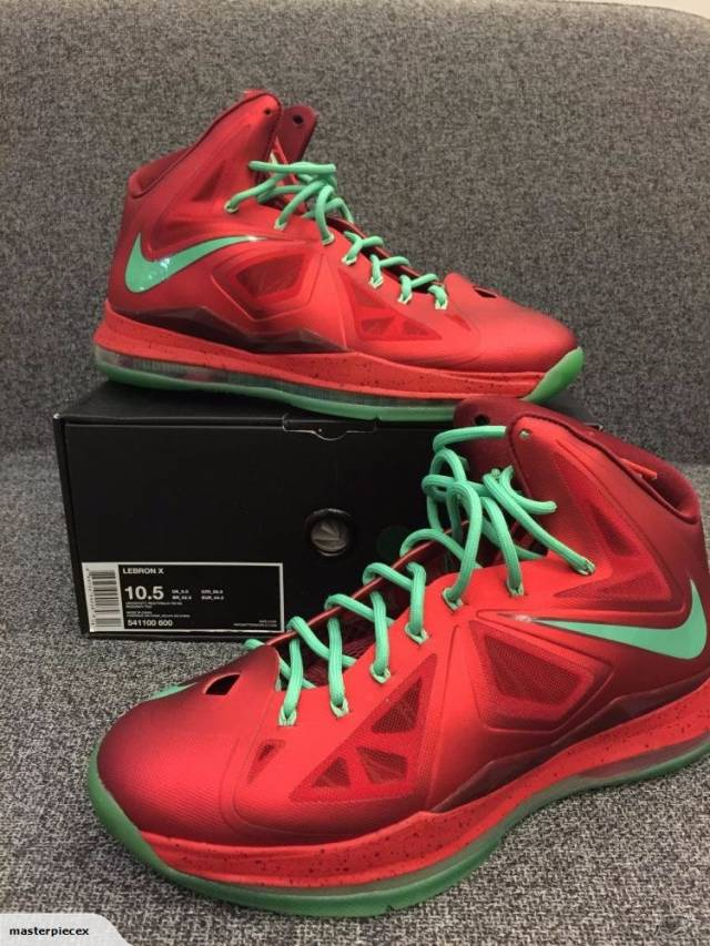 Brand New Nike Lebron X 10 Christmas US 10.5 Limited  607c167d7c38
