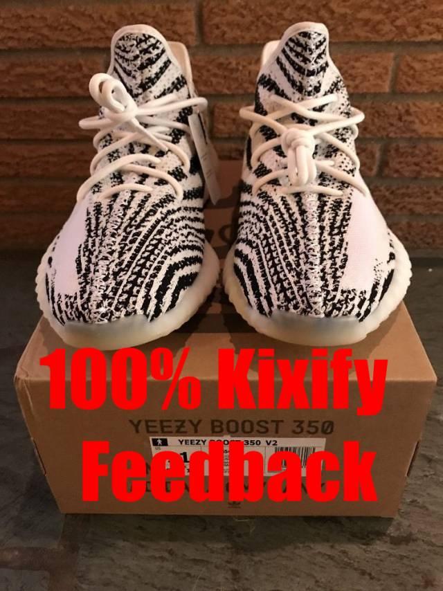 reputable site 7f23e 3dd0d Adidas Yeezy Boost 350 V2 Zebra