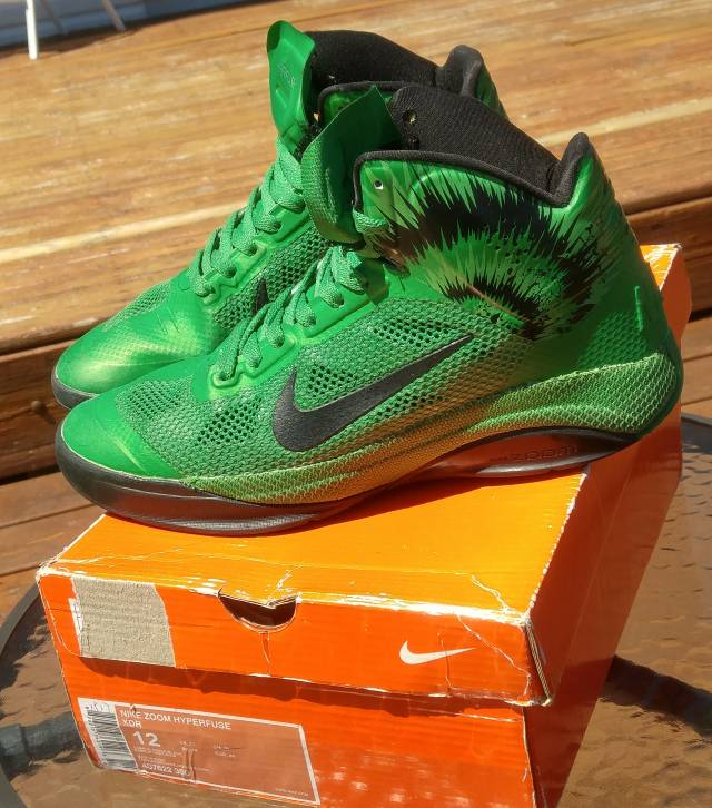 nike zoom hyperfuse 2010 xdr greenblack kixify marketplace