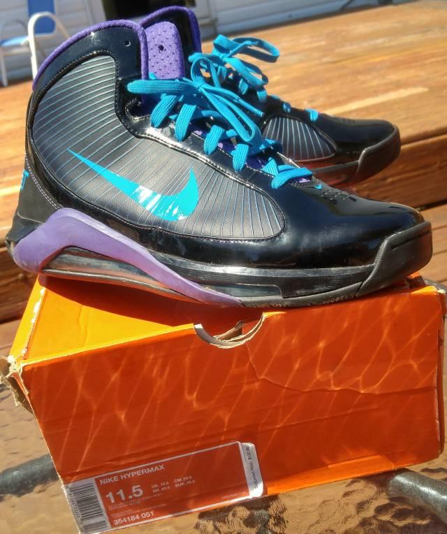 be79d7989 Nike Hypermax 2009 PE David West