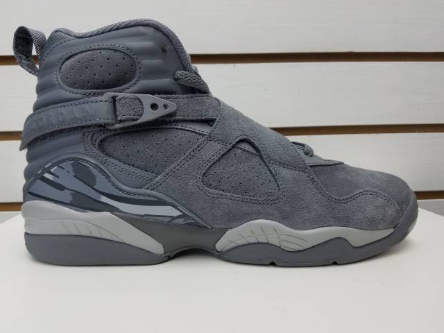 Air Jordan Retro 8 Cool Greywolf grey
