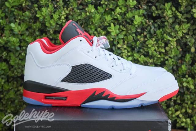 Air Jordan 5 Low Fire Red  d57f8d8c67a9