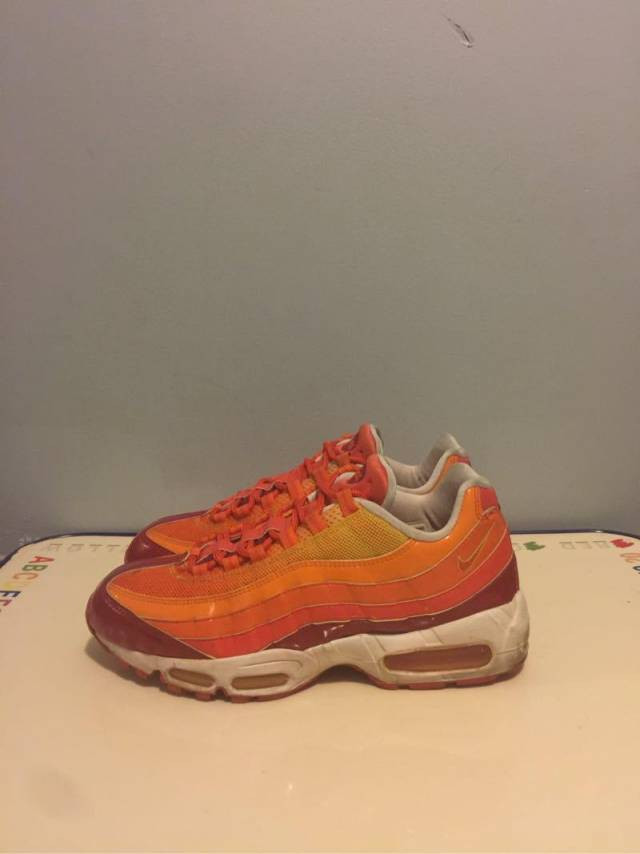 lowest price c952b 88ba7 ... Air max 95 human torch size 10 ...