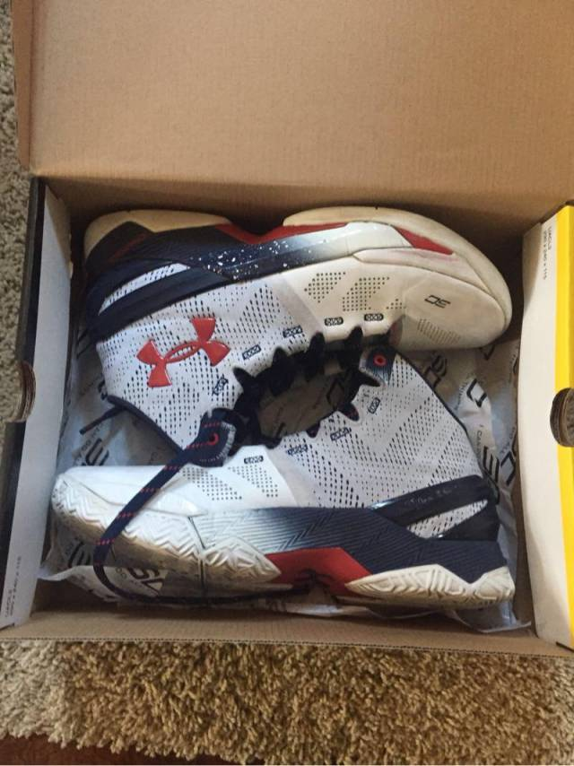 sale retailer 3918c 2fd4f Stephen Curry One USA