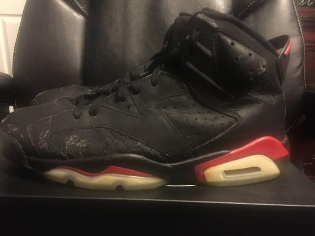 buy popular 82f96 af087 Air Jordan 6 Black Infared 2000 Size 12