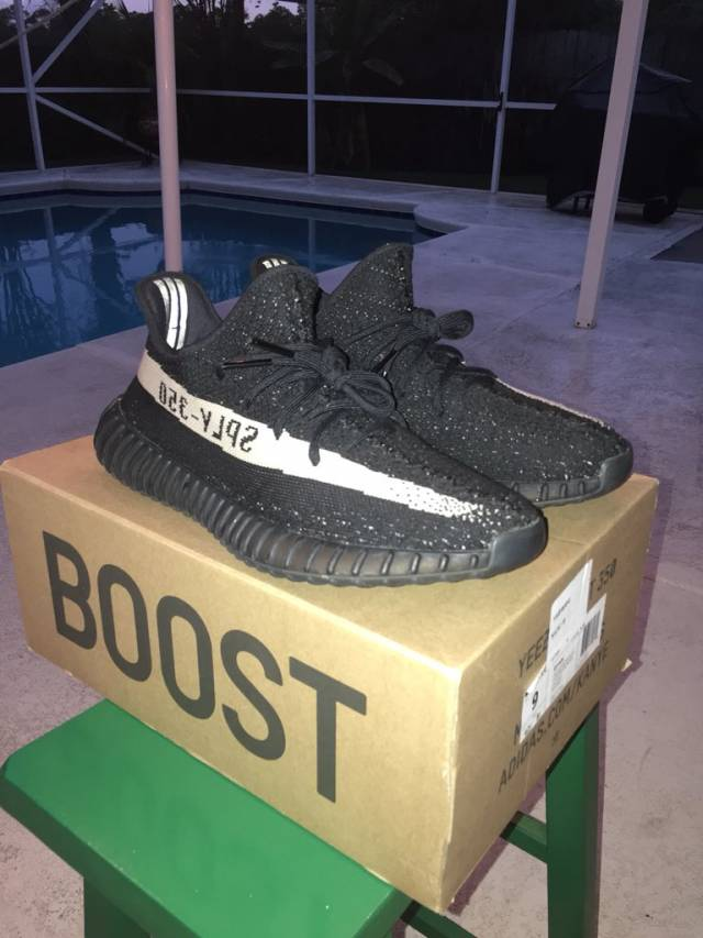 e3bd2448106d Authentic Adidas Yeezy Boost 350 V2