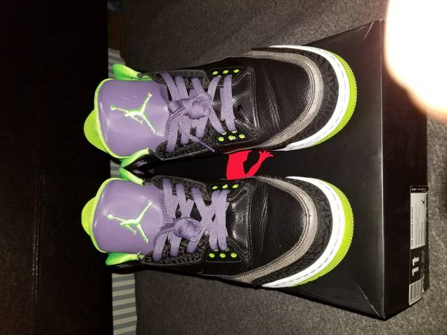 wholesale dealer d8151 9daf6 Air Jordan 3 Joker Size 11