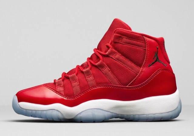 Jordan 11 Retro Low IE White Gym Red (GS) - 919713-101