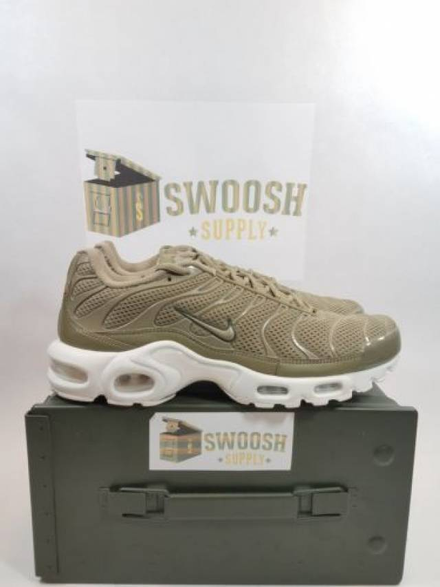 premium selection fa1de 074c3 Nike Air Max Plus Br Tn Ultra Breeze Khaki Cargo Summit...