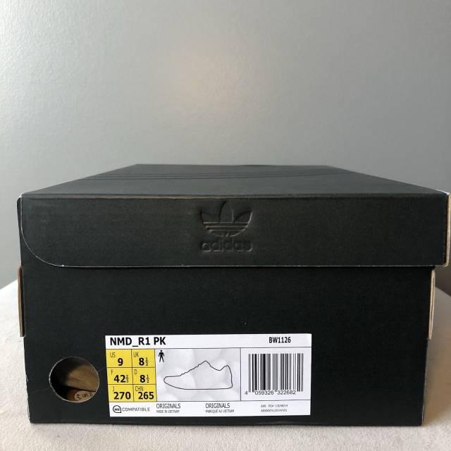 Adidas NMD R1 PK Gum Pack Core Black Primeknit Boost Mogol Pos