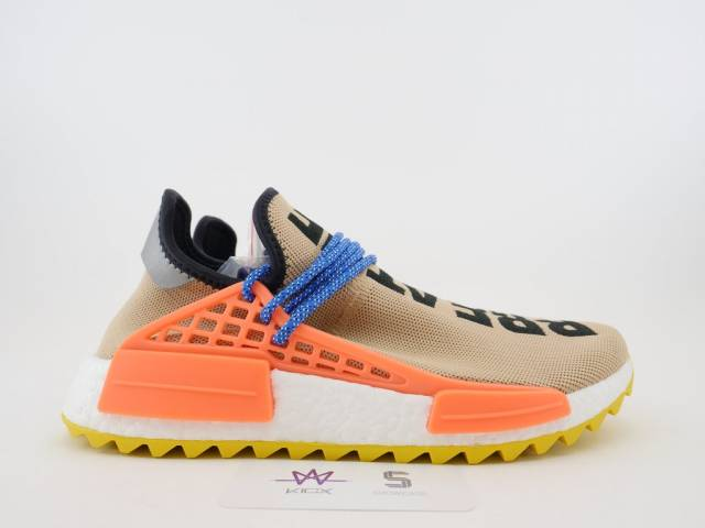 Pharrell X Adidas Nmd Hu Trail Pale Nude Size 7.5