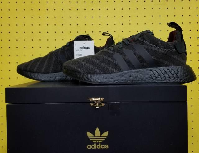 New Men S Adidas Nmd R2 Henry Poole X Size Sz 9 5 Grey