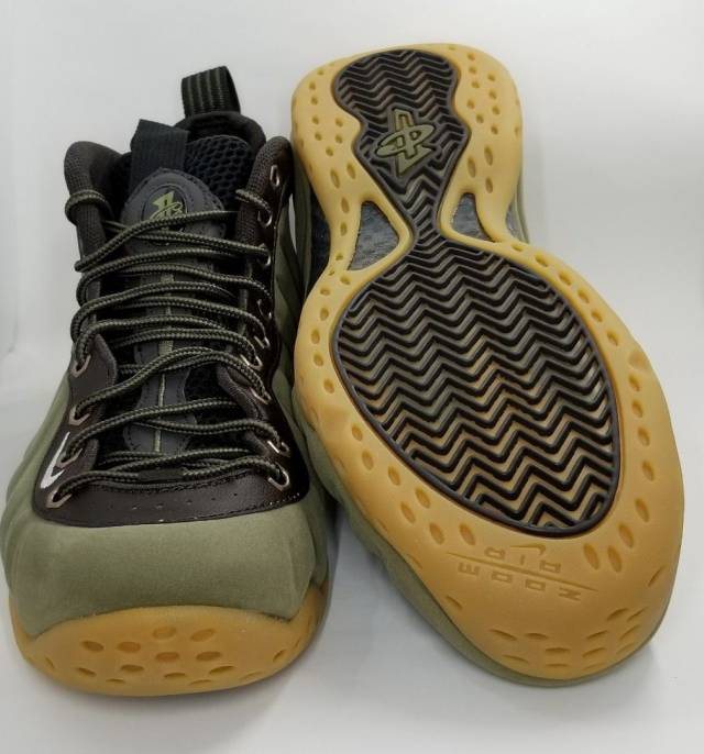 reputable site 85d60 c8671 Nike Air Foamposite One - Olive