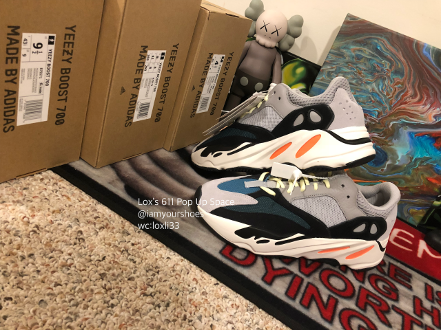 26297f218 Adidas Yeezy Wave Runner 700 Solid Grey SZ 4-12 Kanye West