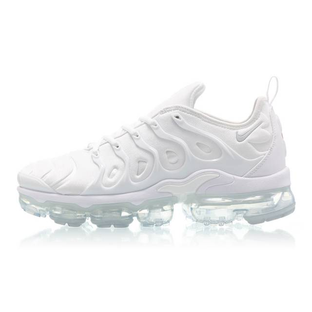 149fa573484 Nike Air Vapormax Plus (Triple White  Chrome) Men 7-13