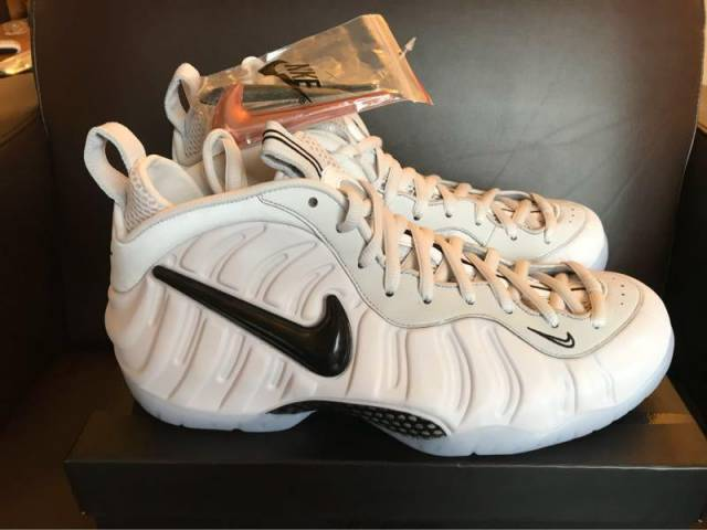 "the latest 6e915 0651e Air Foamposite Pro As Qs ""swoosh Pack"" Size 11"