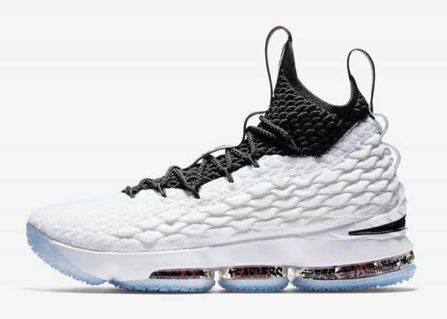Nike Lebron 15 Graffiti White/Black-University Red
