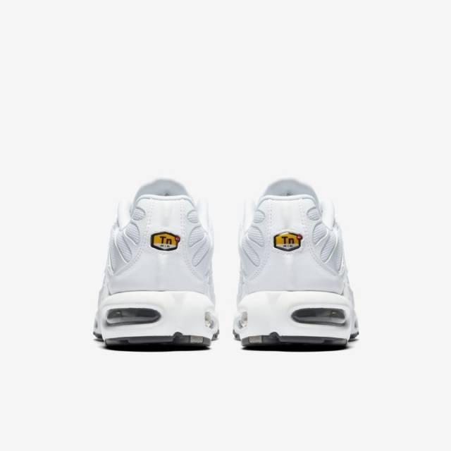 Nike air max plus 604133-139 triple white tuned air tn 97 98 vapormax b80a0183c