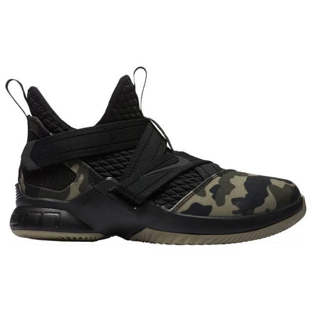 Nike LeBron Soldier 12 SFG Boys  Grade School Black Black Hazel Rush  02910001 762373496f9