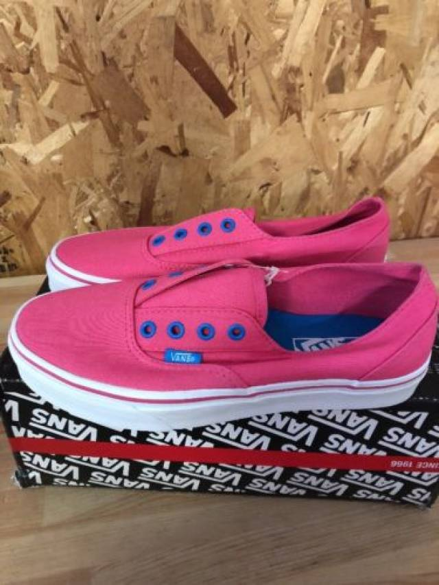 9d88561877 Vans Era (Laceless) Fandango Pink New Size Mens 6.5 Womens 8 ...