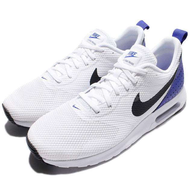 Nike Air Max Tavas White Blue Men Running Shoes Sneakers Trainers