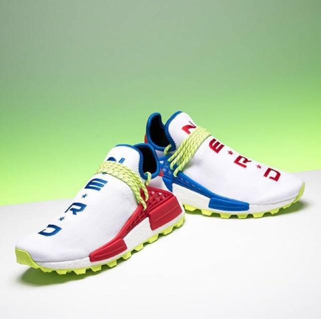 61ae1738f Pharrell x Adidas NMD HU Trail NERD Homecoming Human Race w Receipt (men s)  Size 4-15