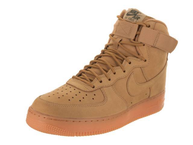 Nike Hombres Air Wb Force 1 High' 07 Lv8 Wb Air Lino  Lino  Exterior Verde  Gum e7b53f