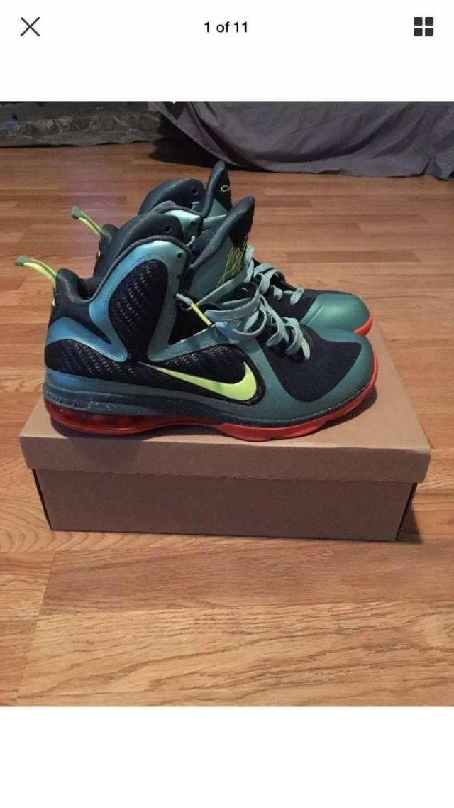 new style 258a9 faabb Nike LeBron 9 Cannon