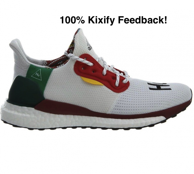 size 40 e0211 4fb0b Pharrell X Adidas Solar Hu Glide St Footwear White