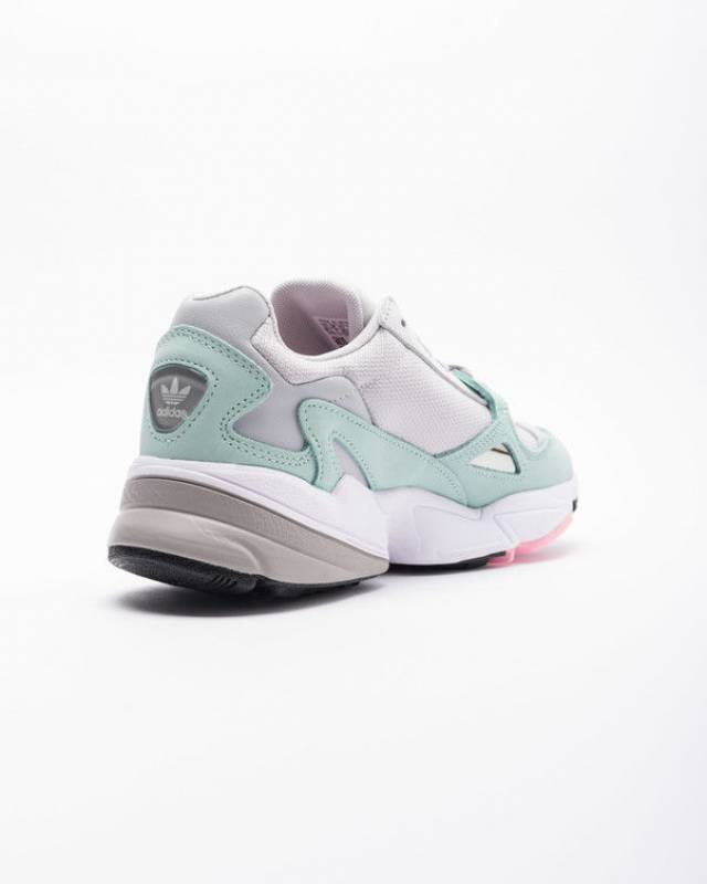 release date: b8a22 0dfef Adidas falcon women b28127 grey ease green watermelon