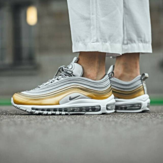 Absay sporco Esecutore  Nike Wmns Air Max 97 Grey Silver Gold Size 6 7 8 9 Womens Shoes New AQ4137- 001 | Europabio Marketplace
