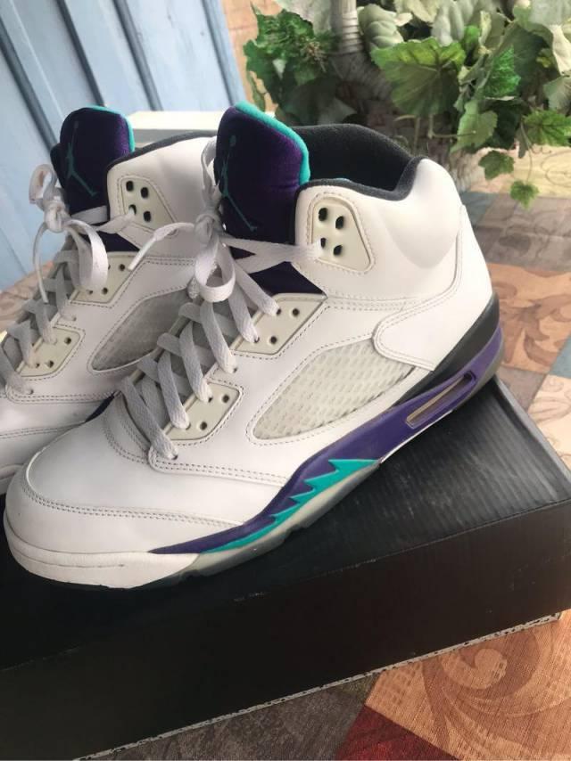 c8901f2c4fb2 Air Jordan 5 retro (grapes)