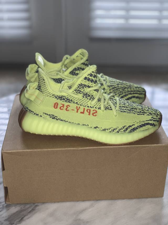 33377380d adidas Yeezy Boost 350 V2 Semi Frozen Yellow