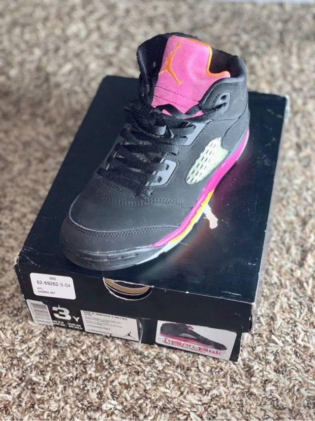 feee5180df7c Air Jordan 5 fusion pink