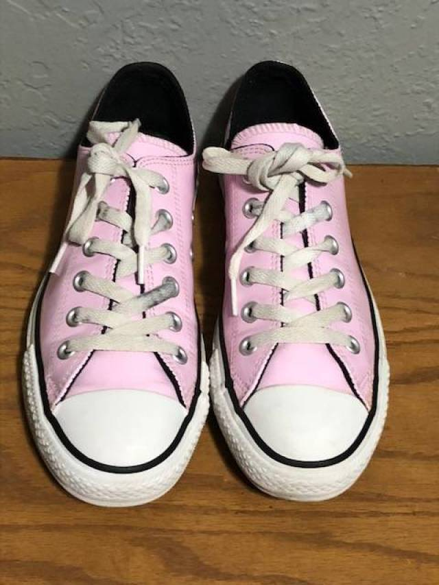 1095d5a58f50 Converse Pink Patent Leather Low All Stars