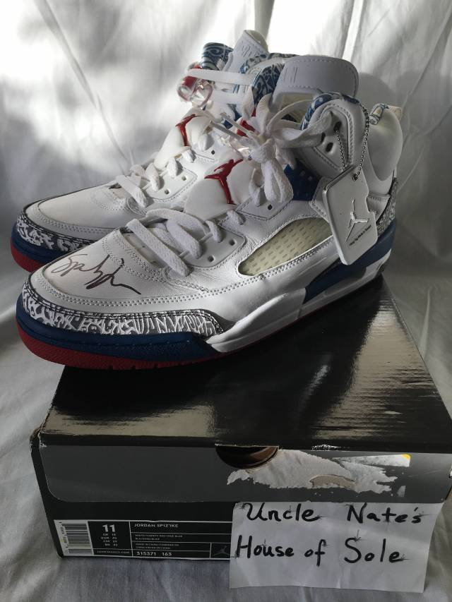 new product 84871 3c783 SIGNED Air Jordan Spizikes, Spike Lee, Size 11