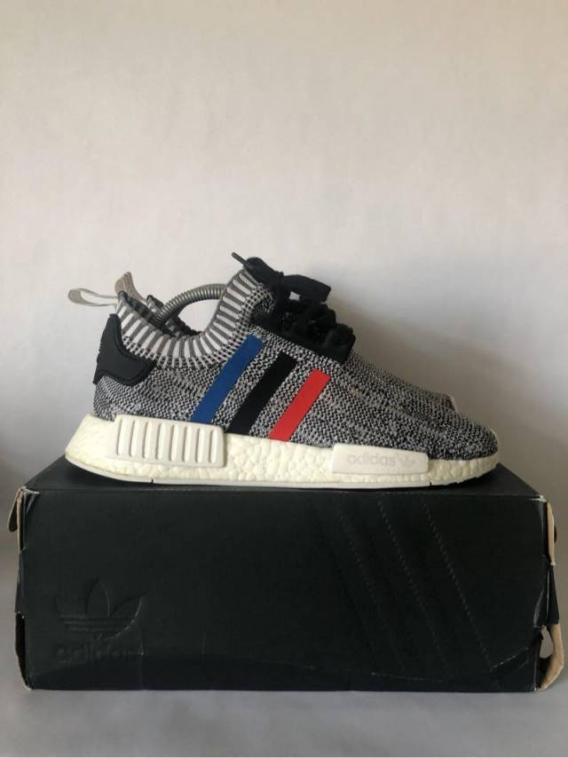 newest 87698 79c3d Adidas Nmd R1 Tri Color