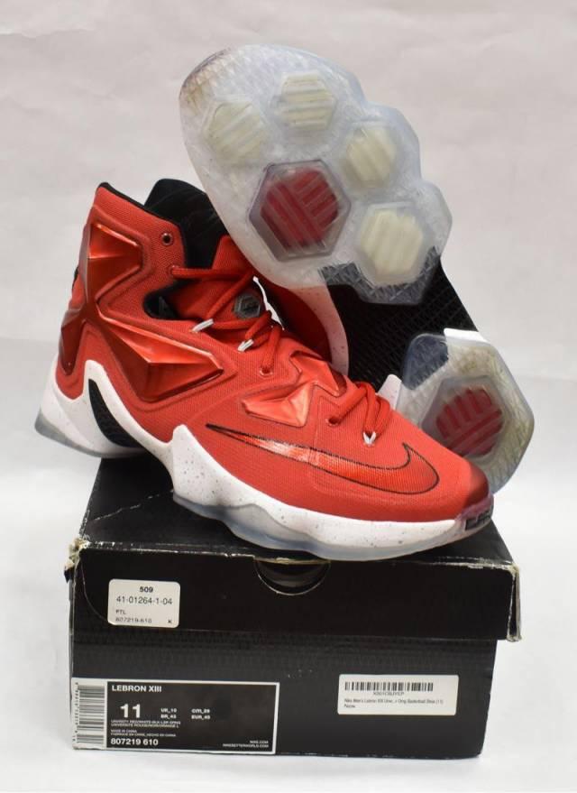watch 69c6c 2dcb8 Vnds Nike Lebron XIII Red   Kixify Marketplace