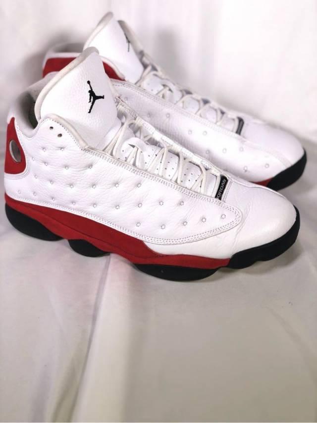 watch 5404f 1bdfa Air Jordan 13 White True Red